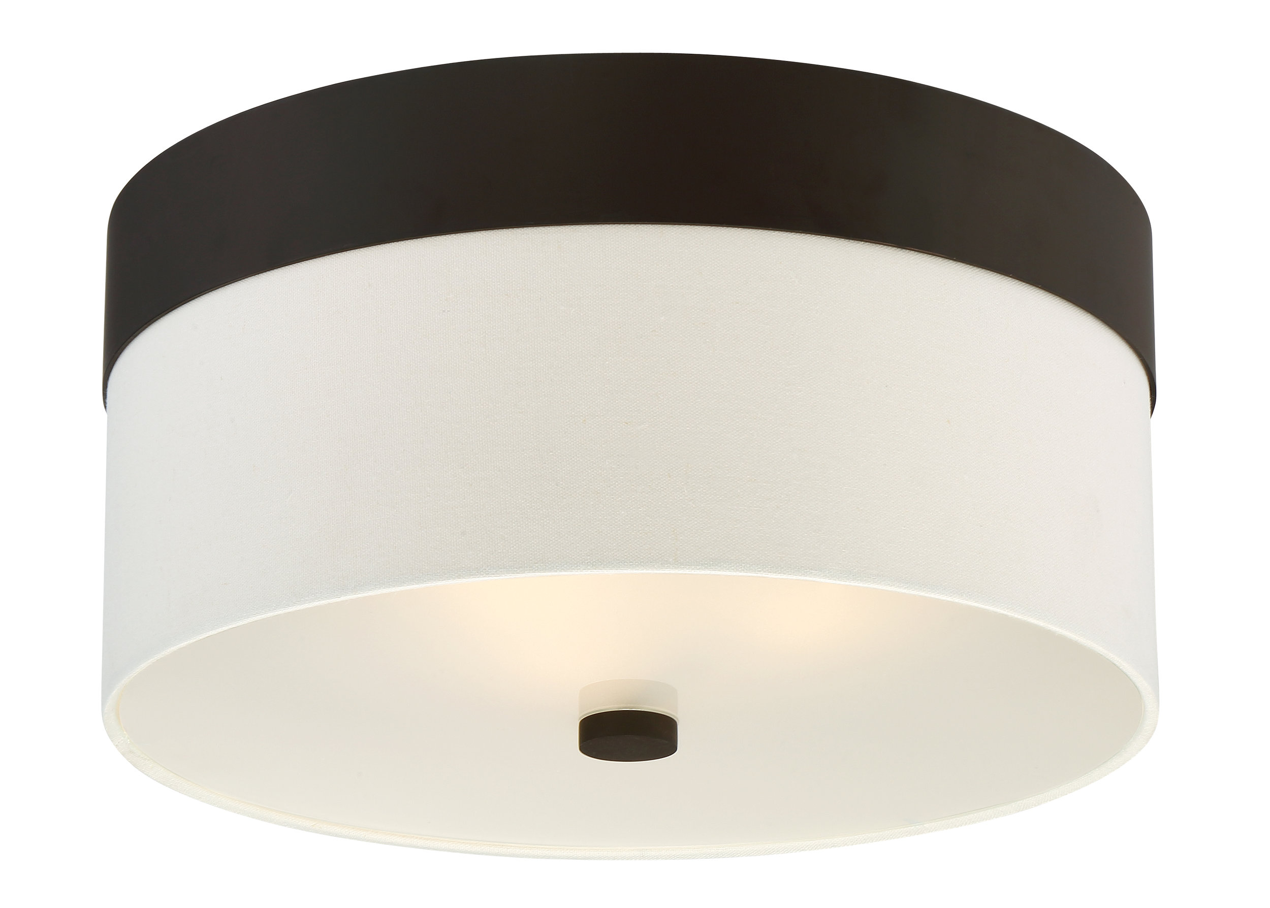Grayson 3 Light Dark Bronze Ceiling Mount