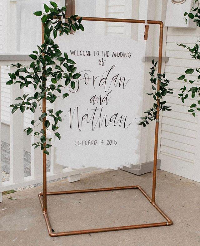 Happy ONE YEAR, Jordan + Nathan.✨ — Photos | @reighwalker Planning | @celebratedallas Calligraphy | @ellieandace Florals | @jubileeflowerco  Venue | @cliffhousetexas
