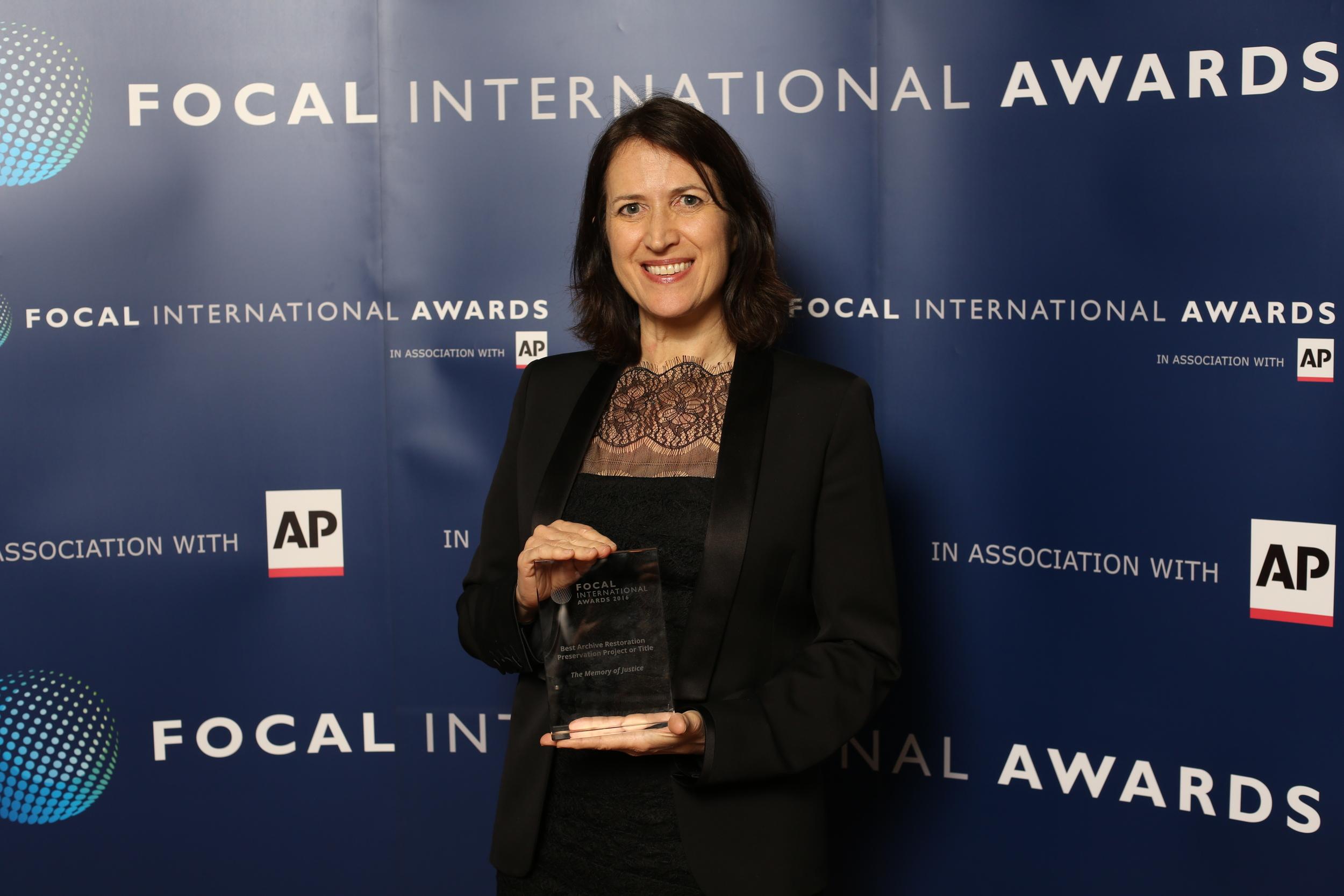 Margaret Bodde of Film Foundation.