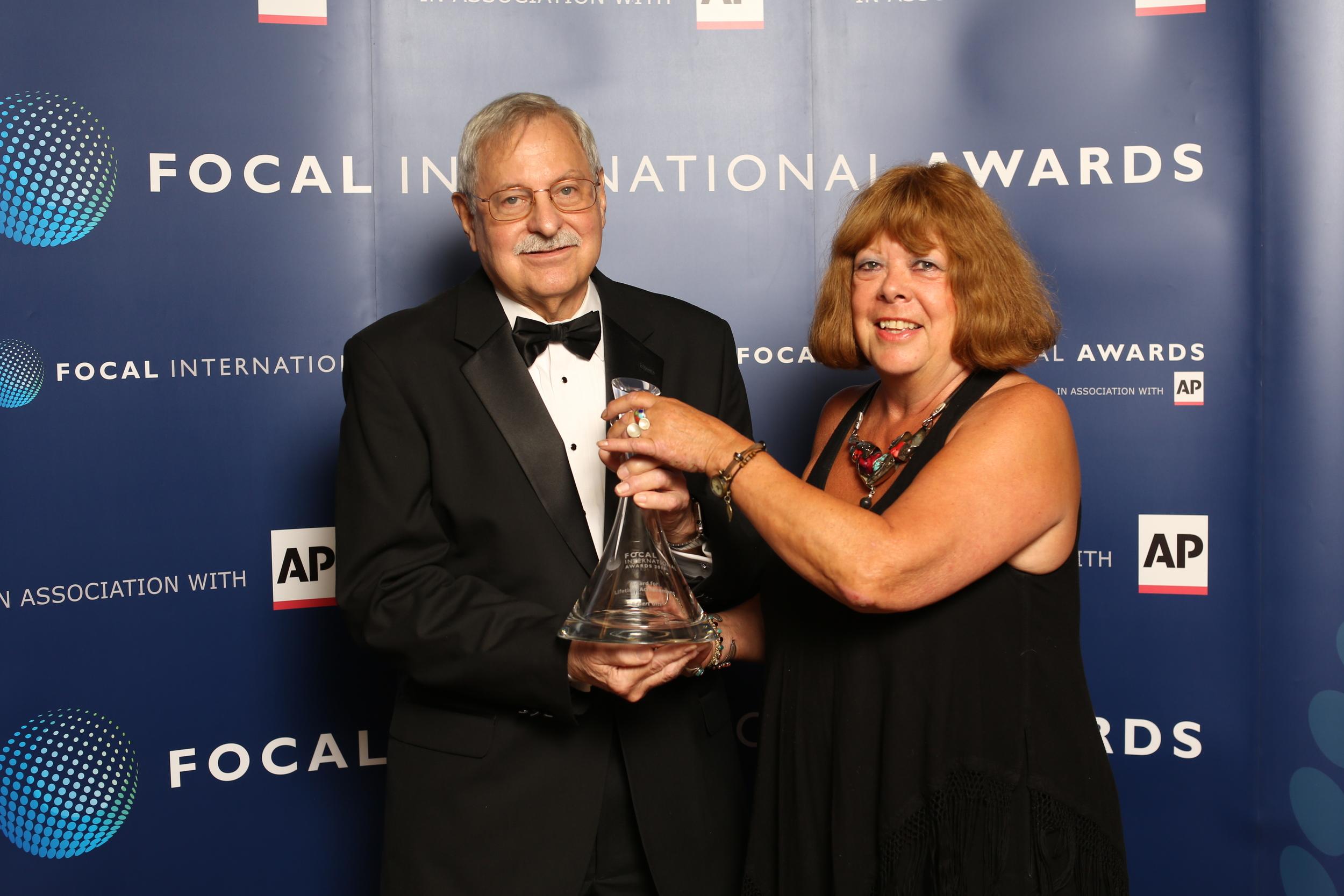 Robert Gitt and Sue Malden.