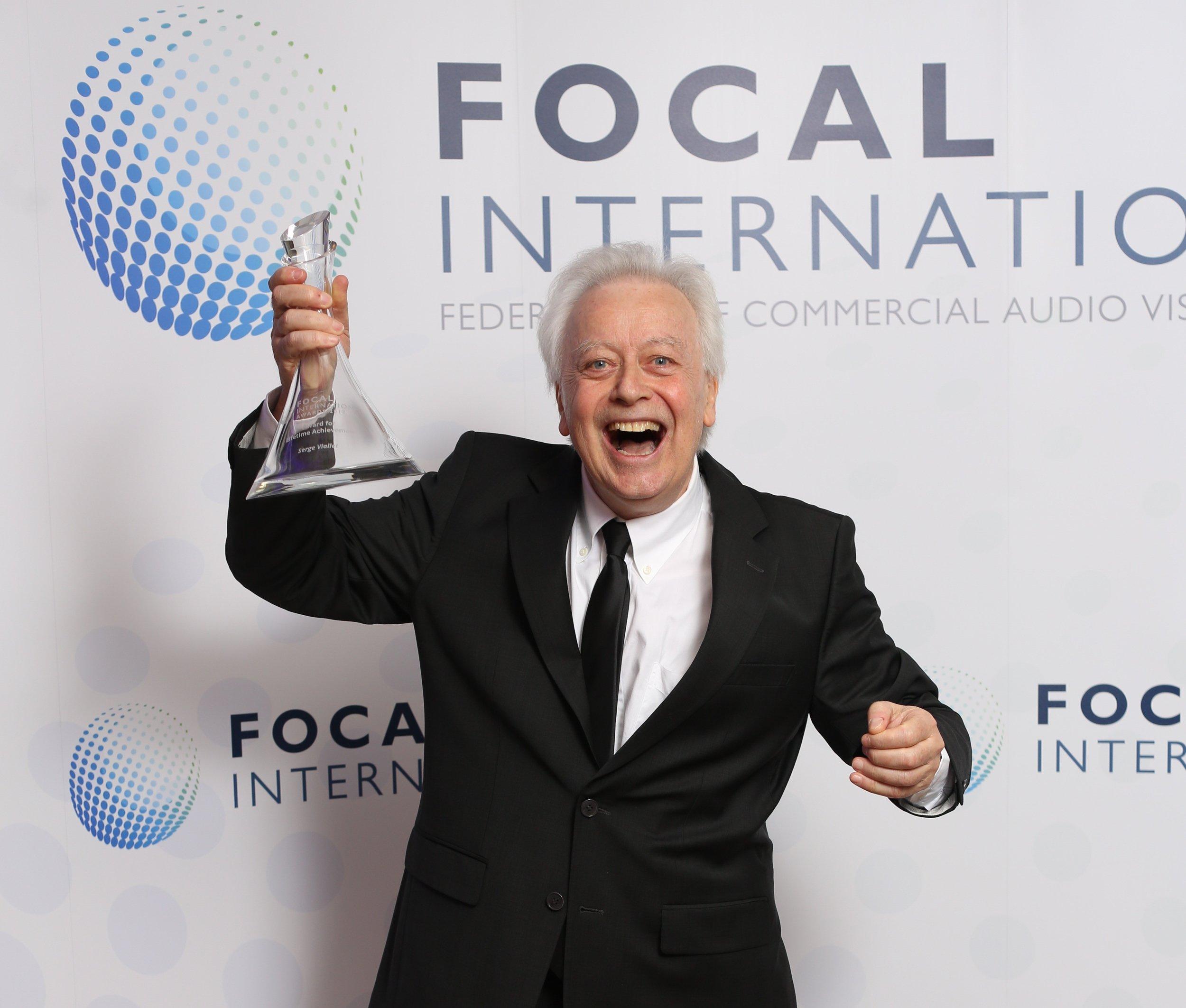 Award for Lifetime Achievement Award - Serge Viallet