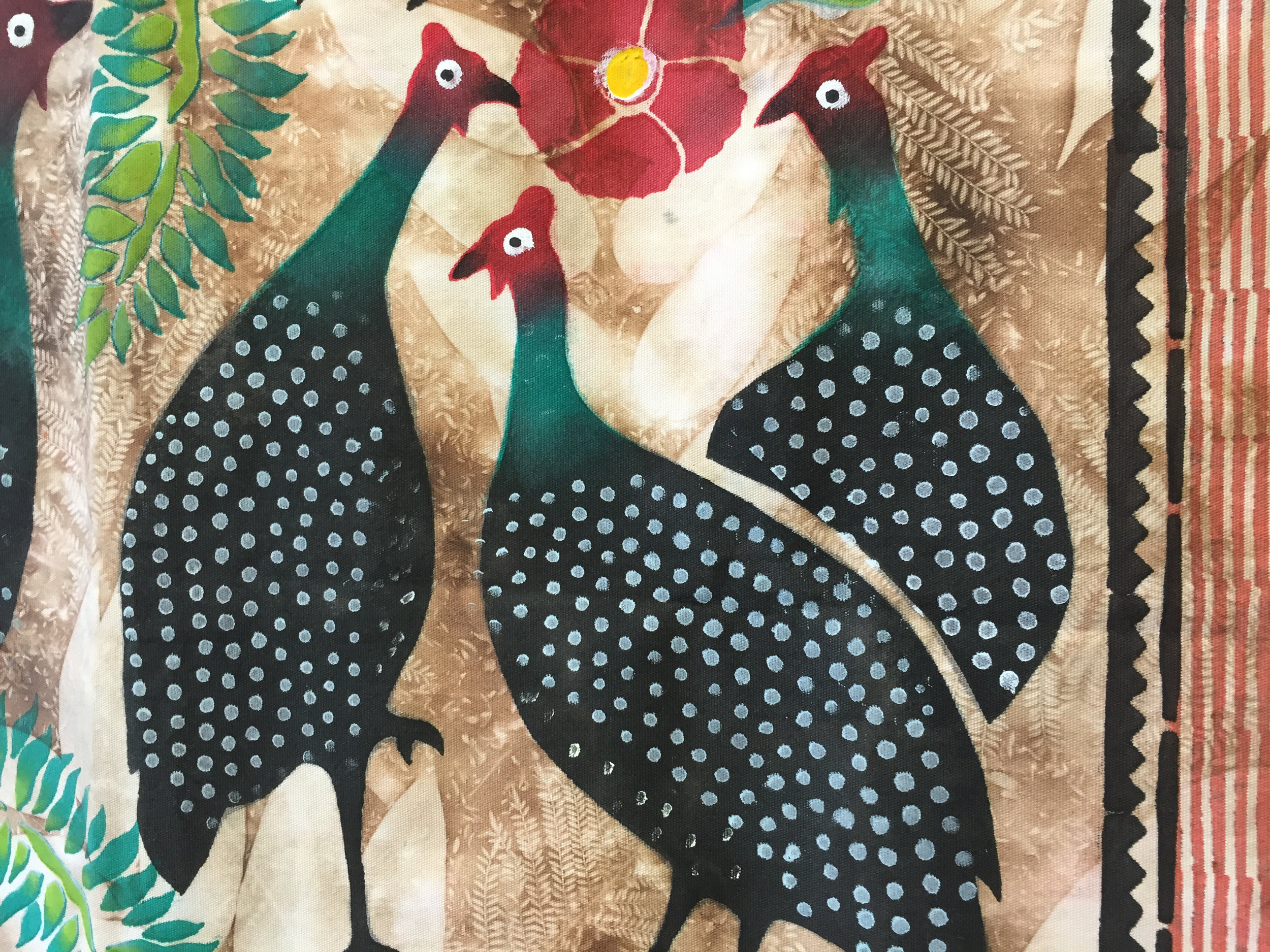 Detail from West African Fabric