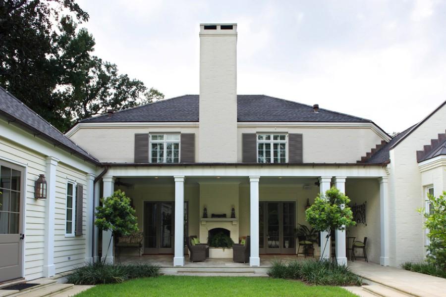 Hillwood House Backyard