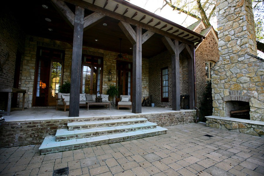 Kirby House Front Patio