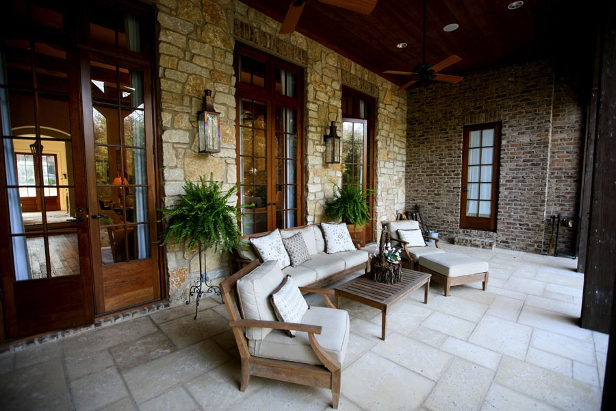 Kirby House Outdoor Patio