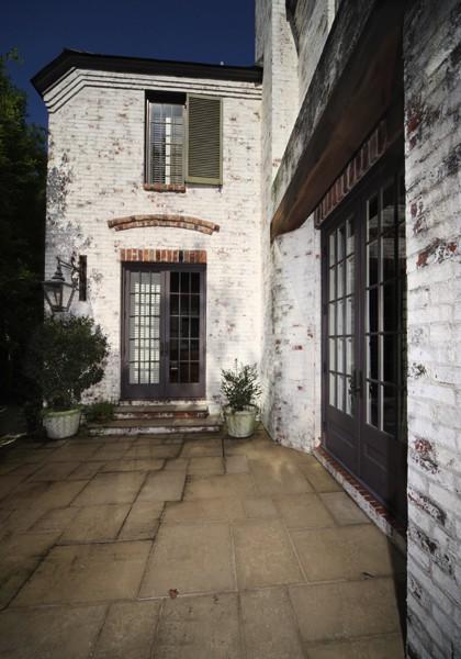 Boehm House Side Entrance