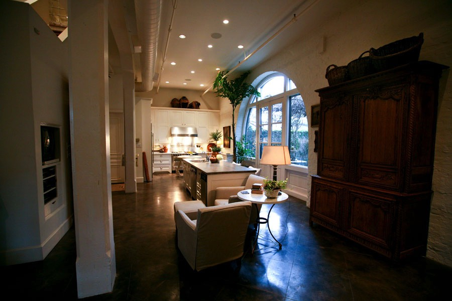 Atchison Loft Living Room