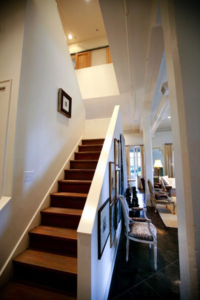 Atchison Loft Stairs