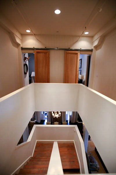 Atchison Loft Architectural Staircase