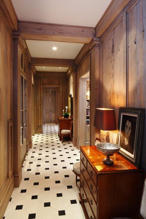 Thomas House Paneled Hallway