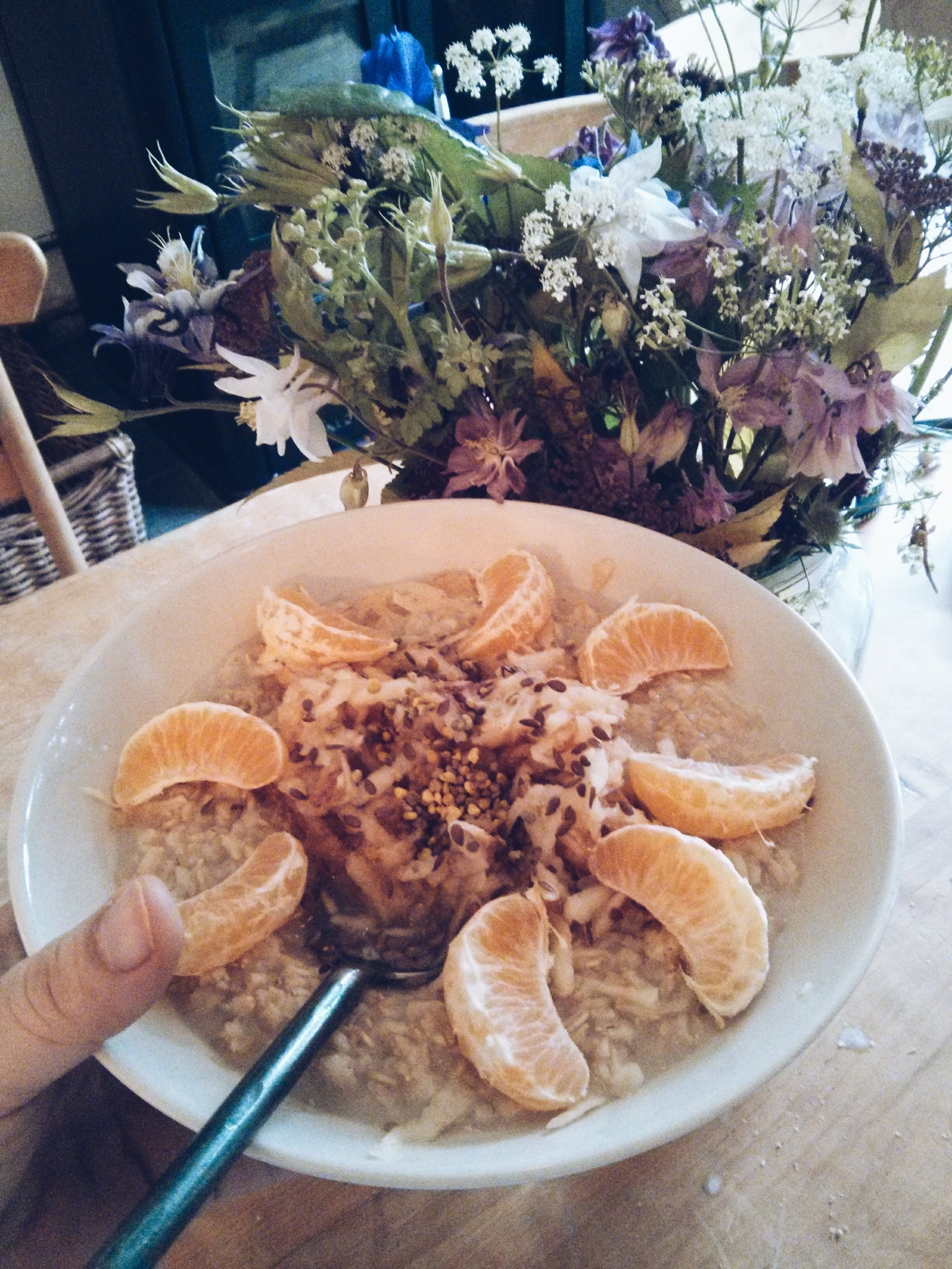 Anti Hayfever Porridge
