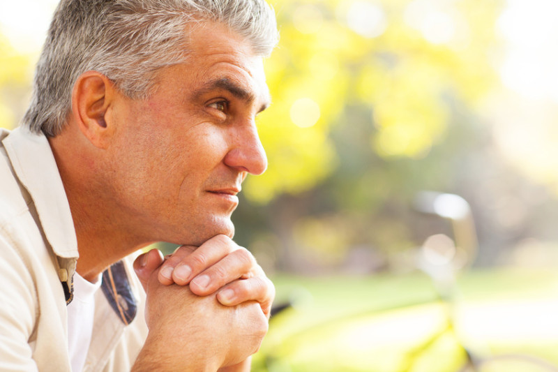 Aging causes testosterone levels to decrease in men starting around age 30. Take control of your health by managing this natural process.