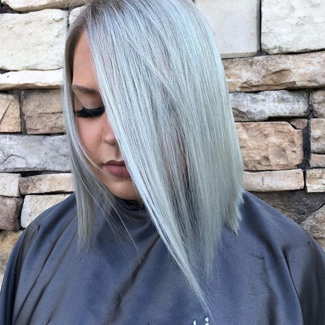 Ice, ice, baby. ❄️ | hair by Liz. #aristagirl #kchairstylist #icyblonde