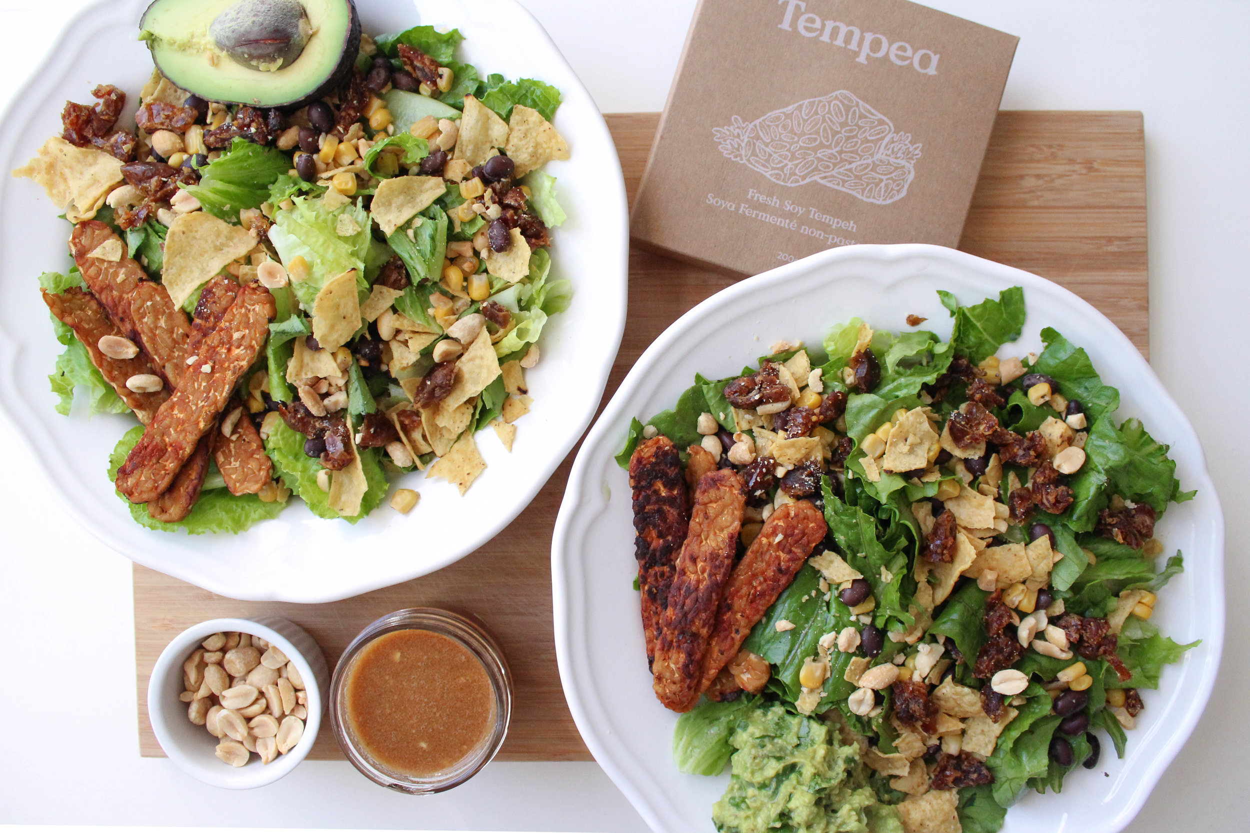 Santa Fe Tempeh Salad -