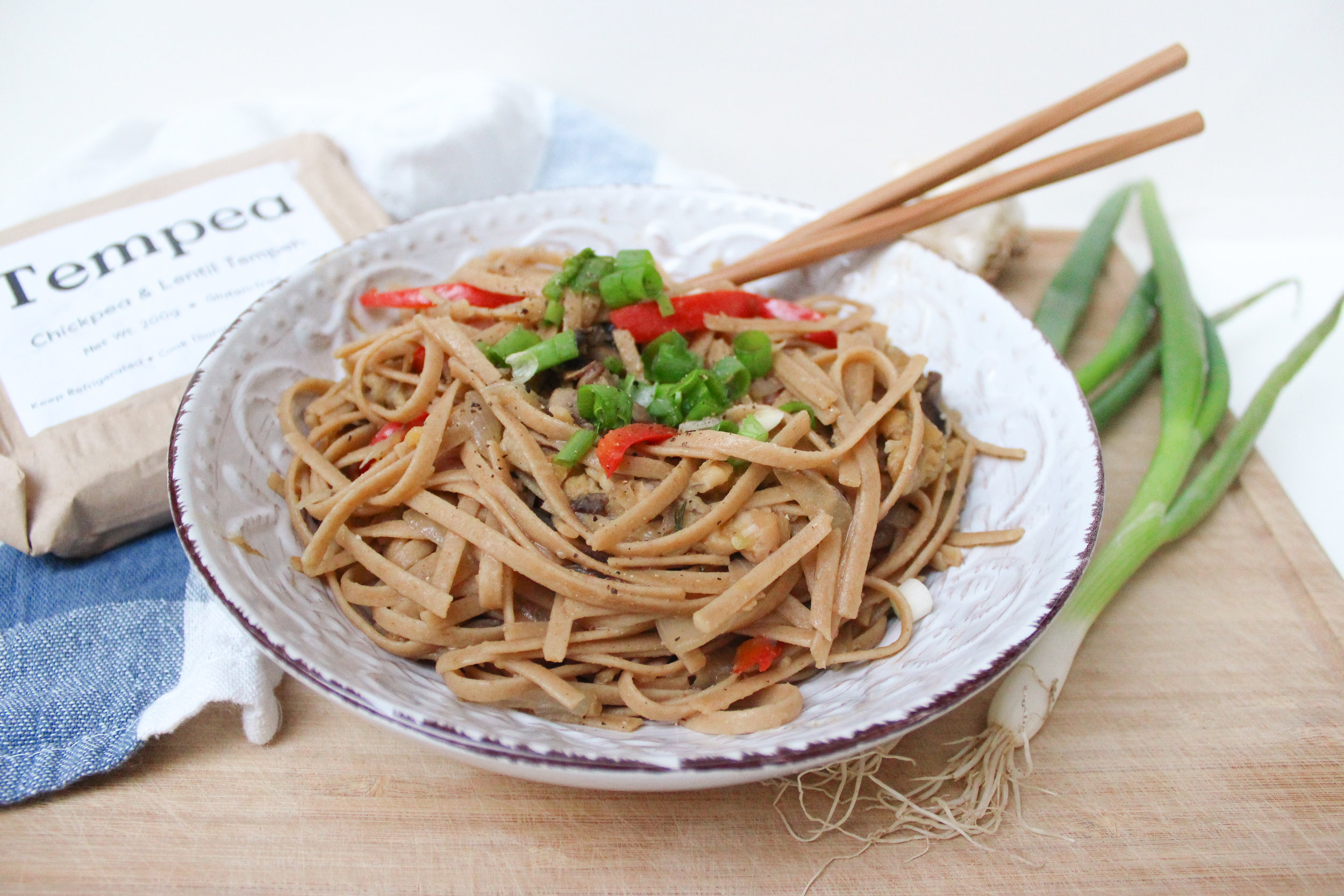 Tempeh Fried Noodles -