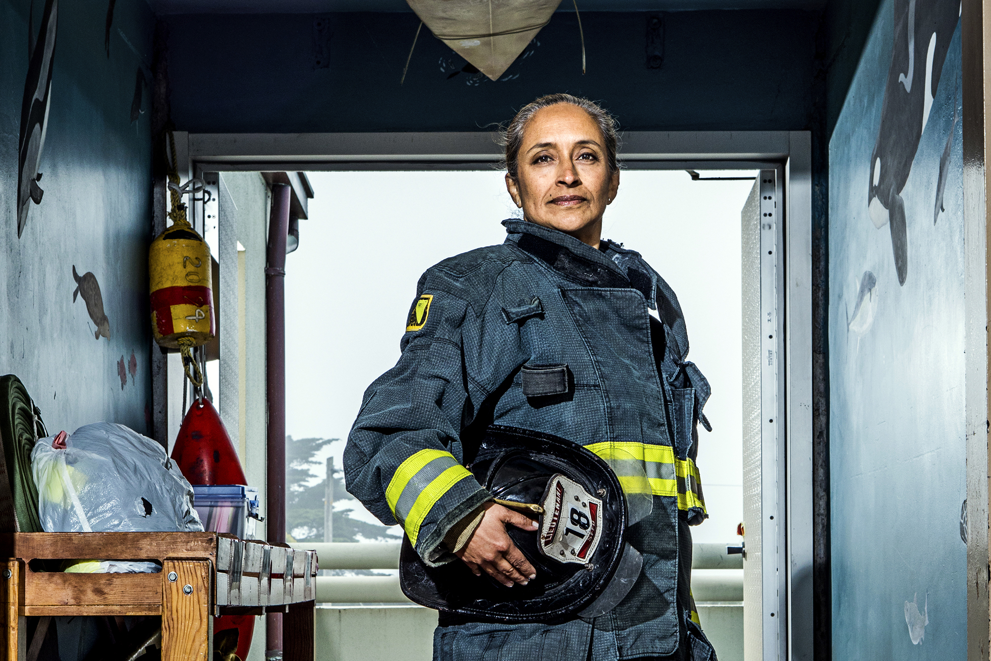 Angela Romero - Lieutenant, 19 years