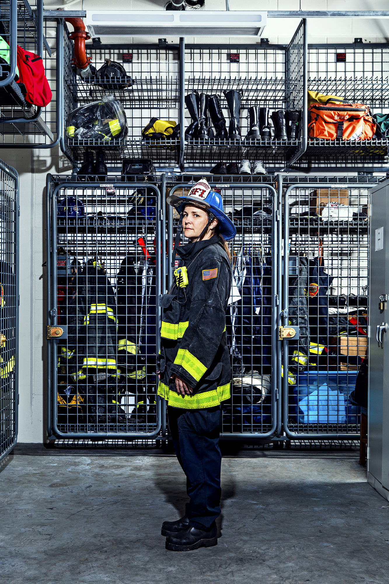 Laura Kelly- Fire Investigator, 22 years.