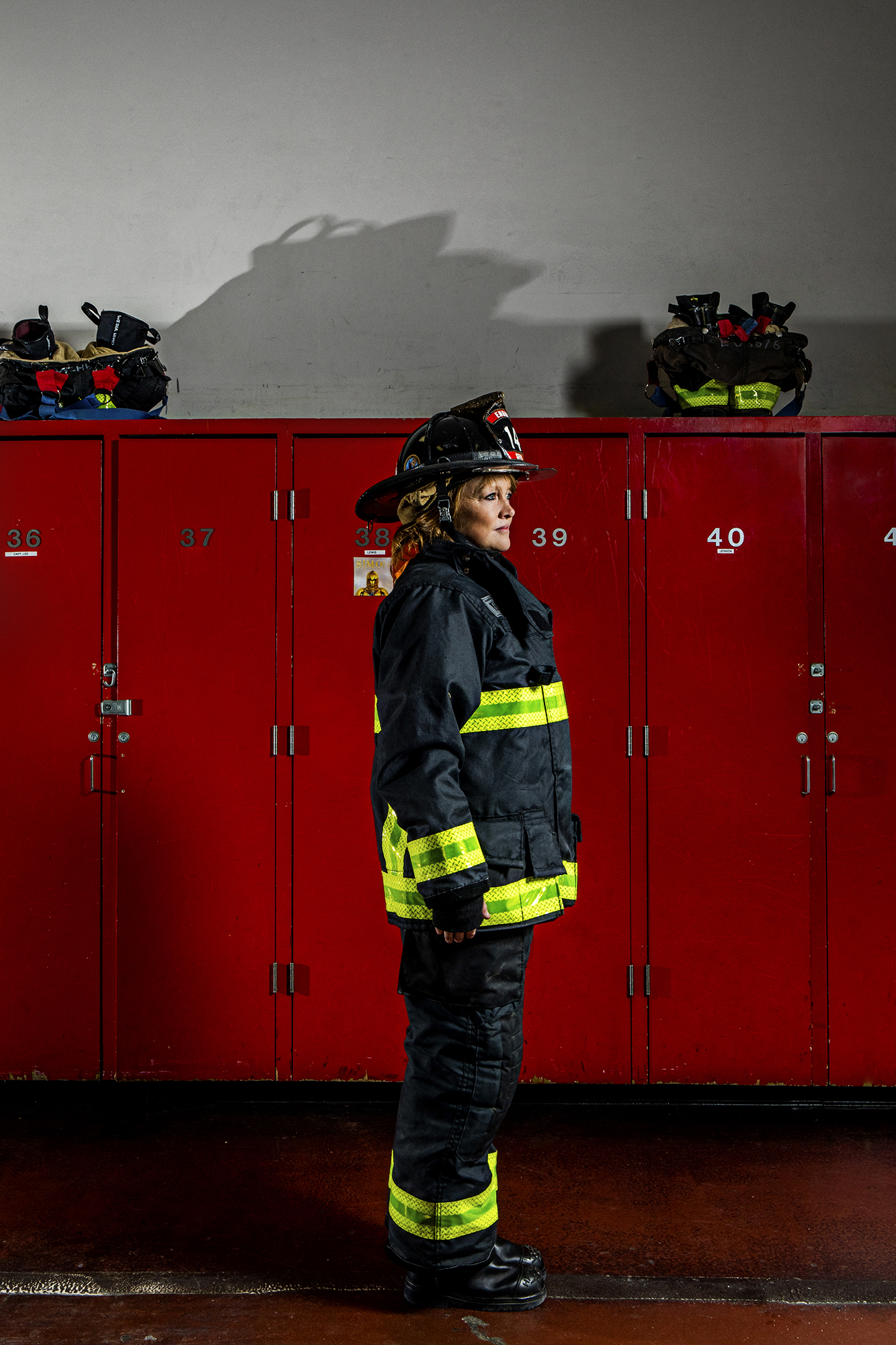 Mary Minogue-Reidy - Firefighter, 16 years.
