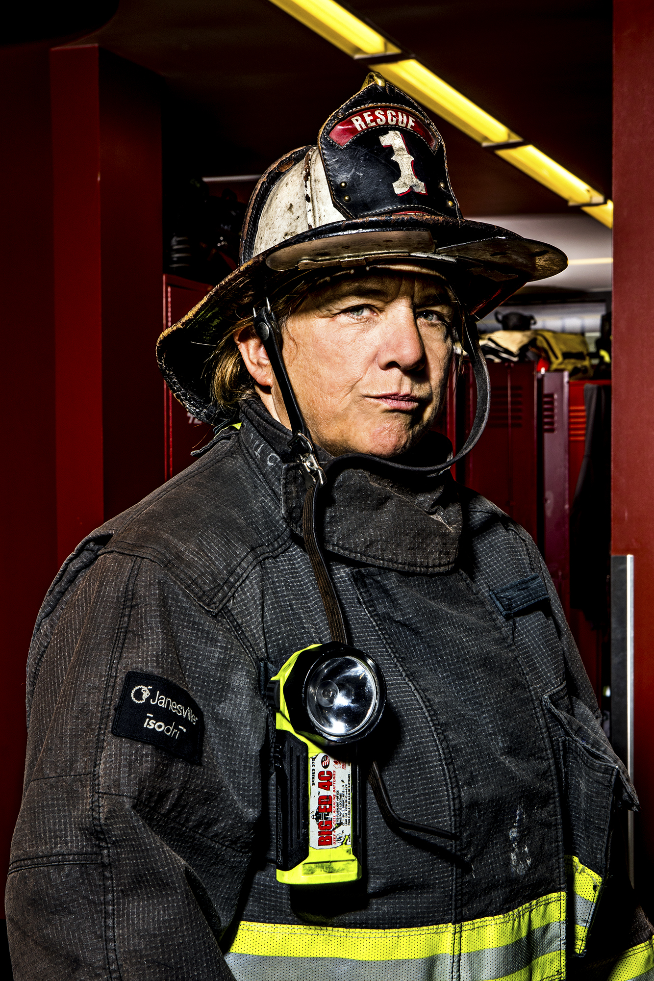 Sarah Coe - Rescue Squad 1, 30 years.
