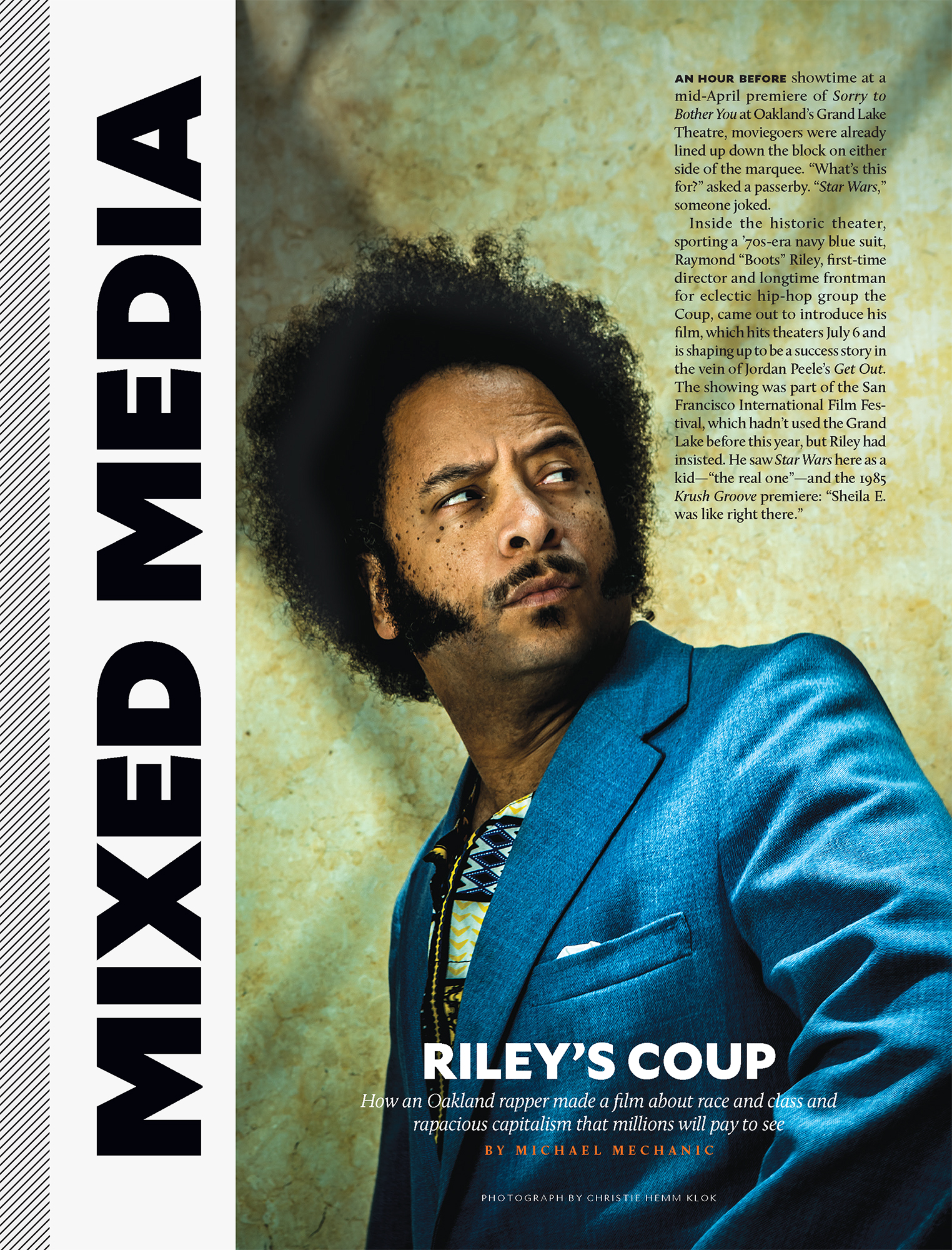 Boots Riley for Mother Jones.
