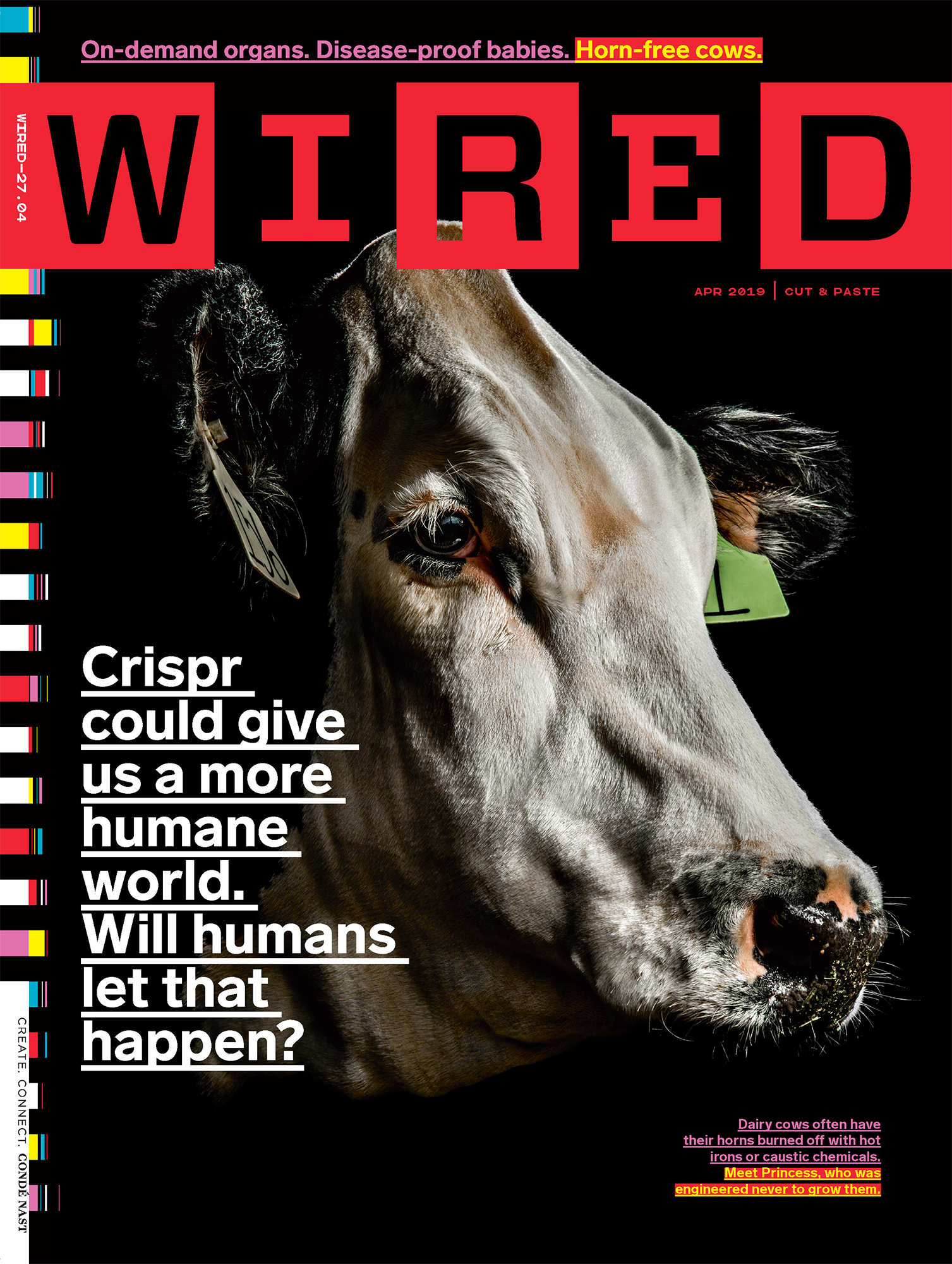 CRISPR in Animals for WIRED