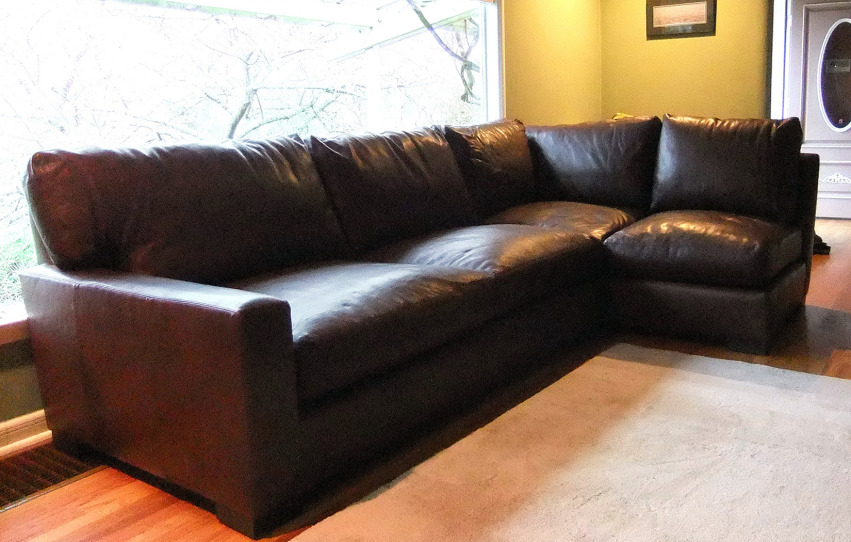 The Maxwell Sectional | Leather