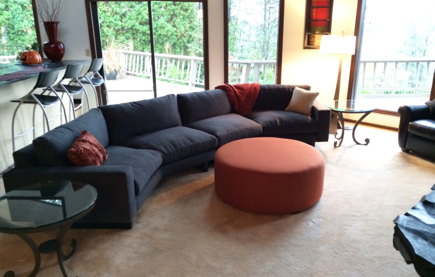 The Holland Sectional | Custom Bevel