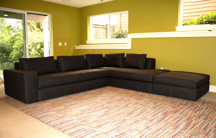 The Dune Sectional + Ottoman