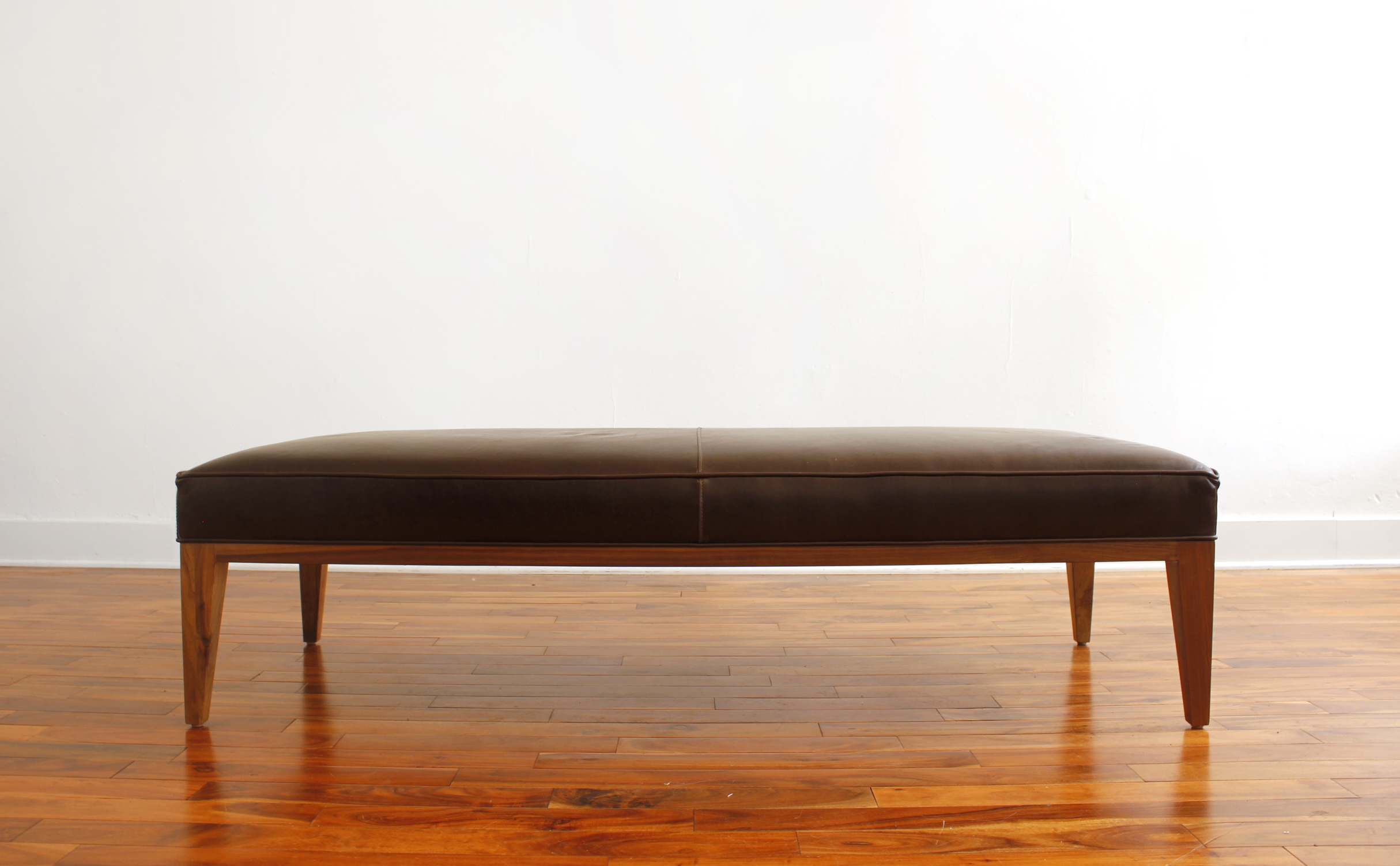 The Bench Ottoman | Leather