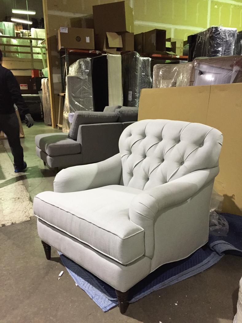 The English Chair | Diamond Tufted