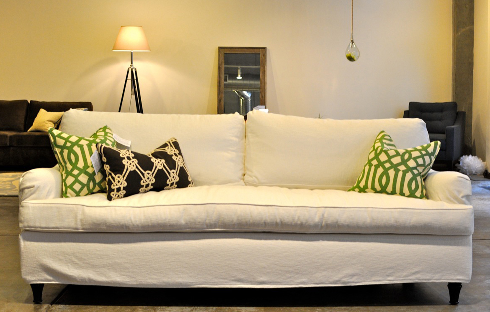 The English Loose Back | Slipcover