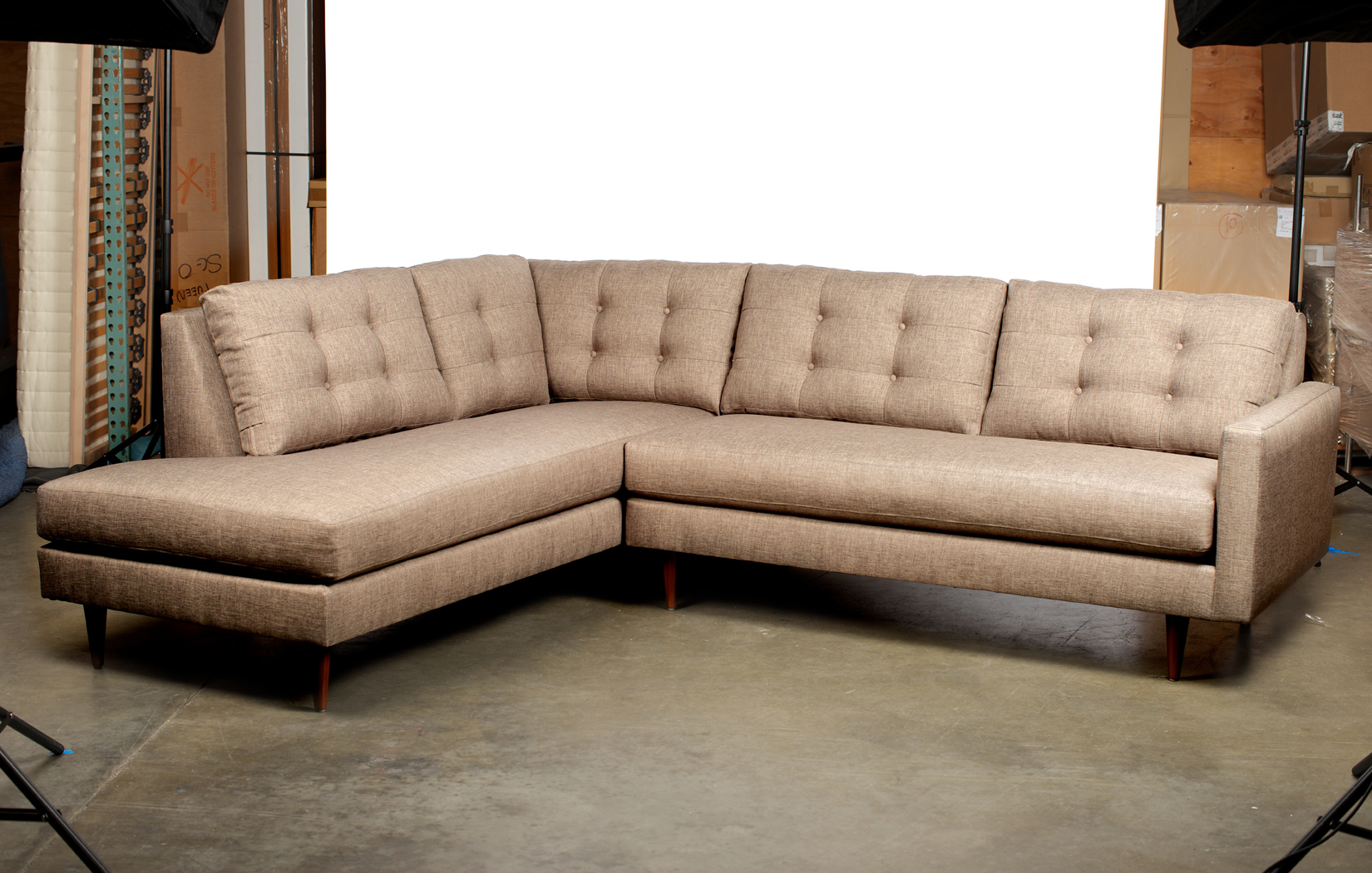 The Holland Sectional | Bumper Ottoman