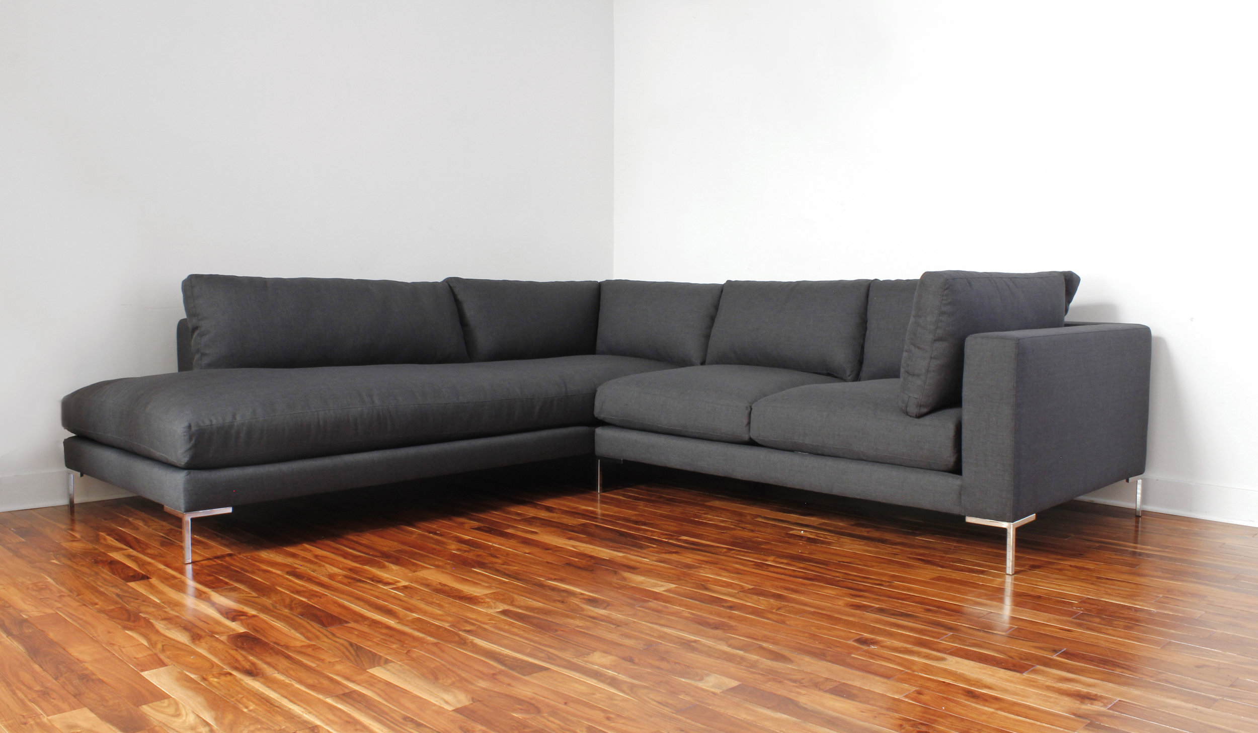 The Paige Sectional | Bumper ottoman