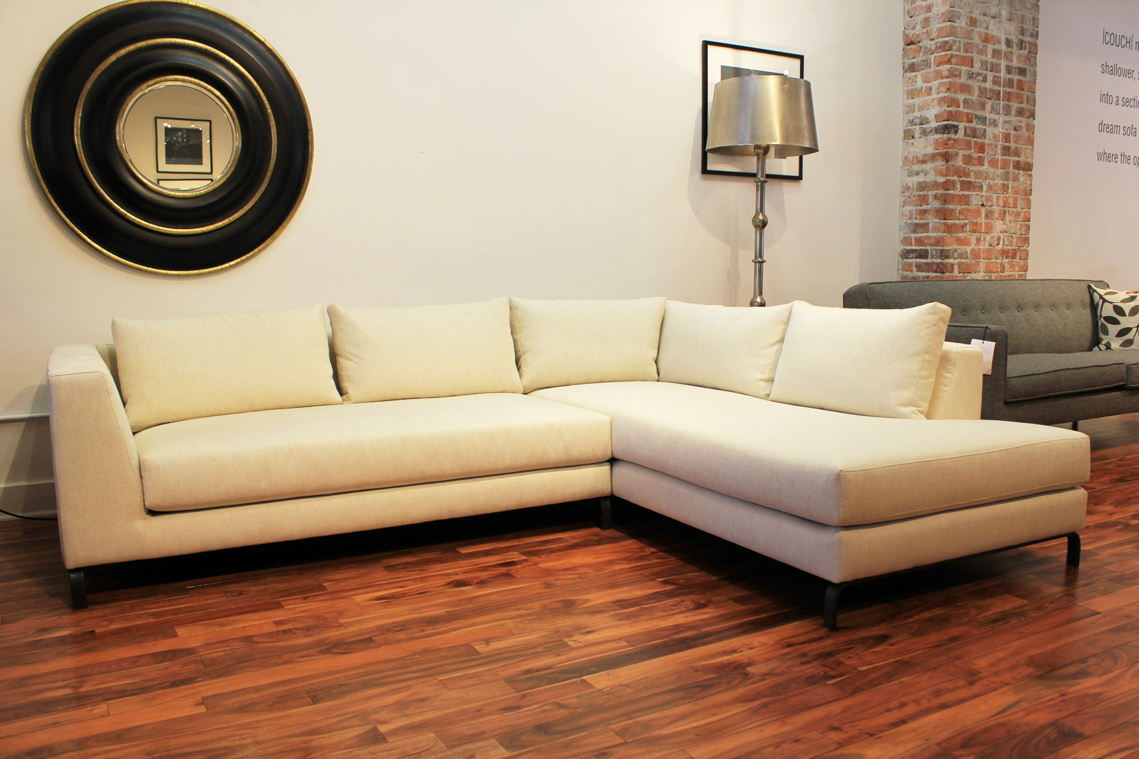 The Warren Sectional | Bumper Ottoman