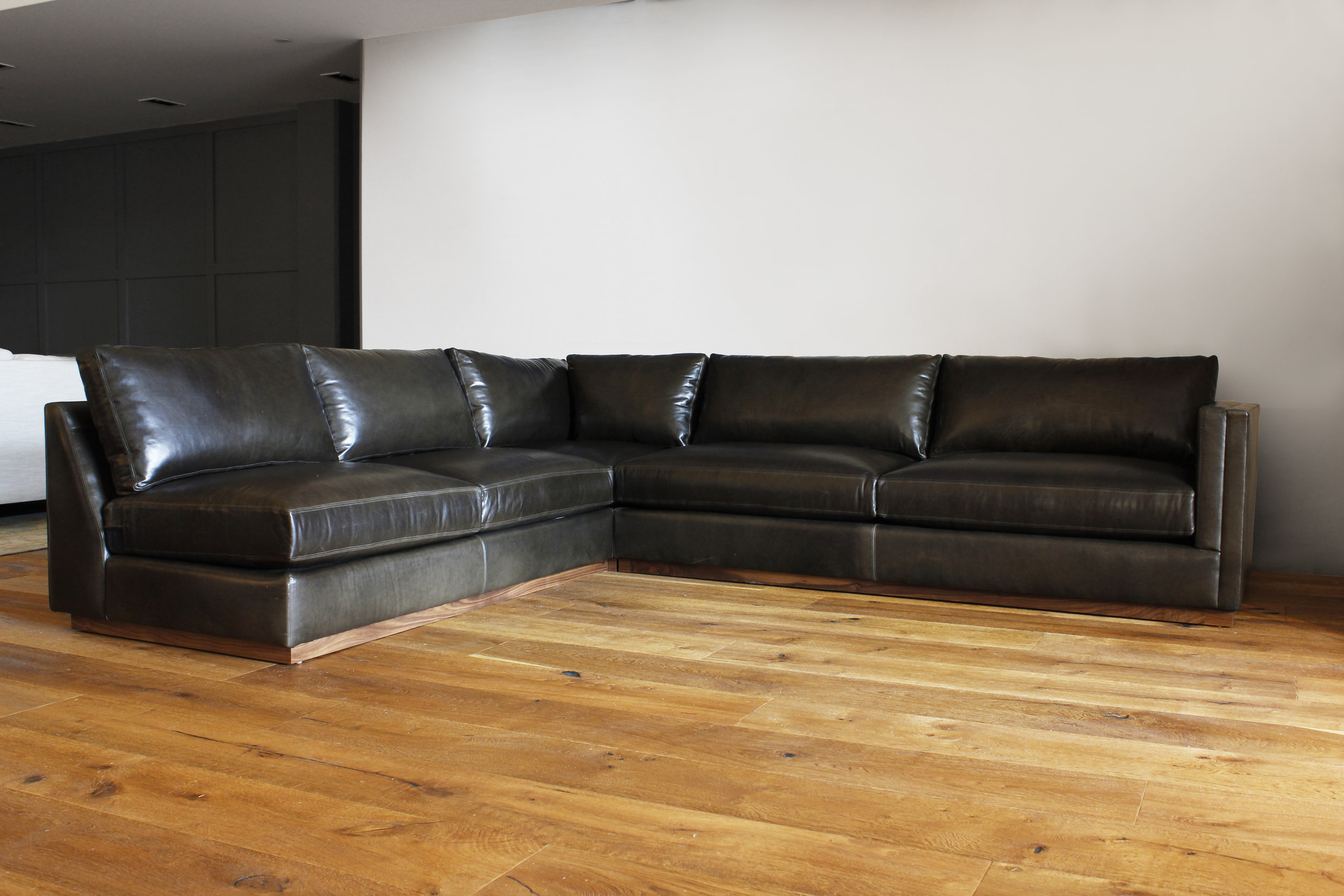The Caulfield Sectional | Leather