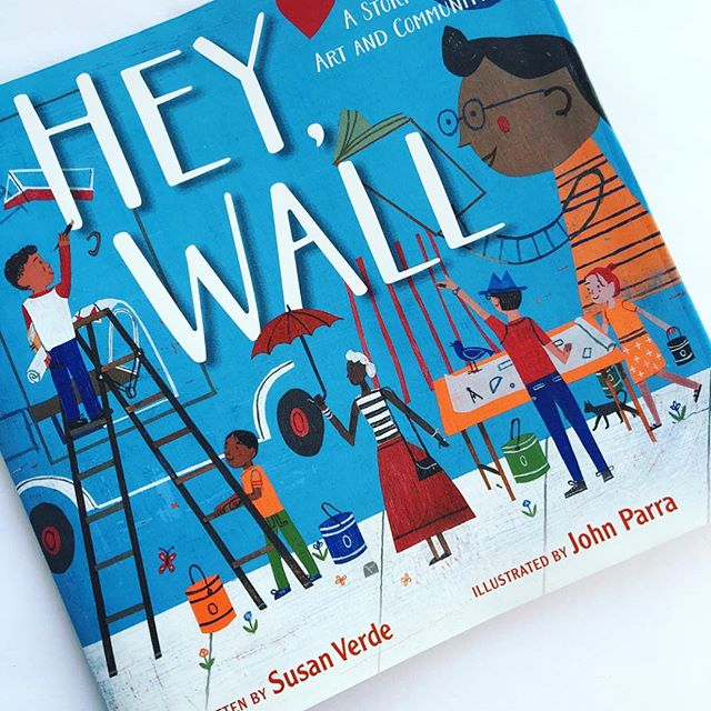 One of our favorite stories about one boys commitment to his community! Hey, Wall by @susanverde 💙 #readysetreaddc