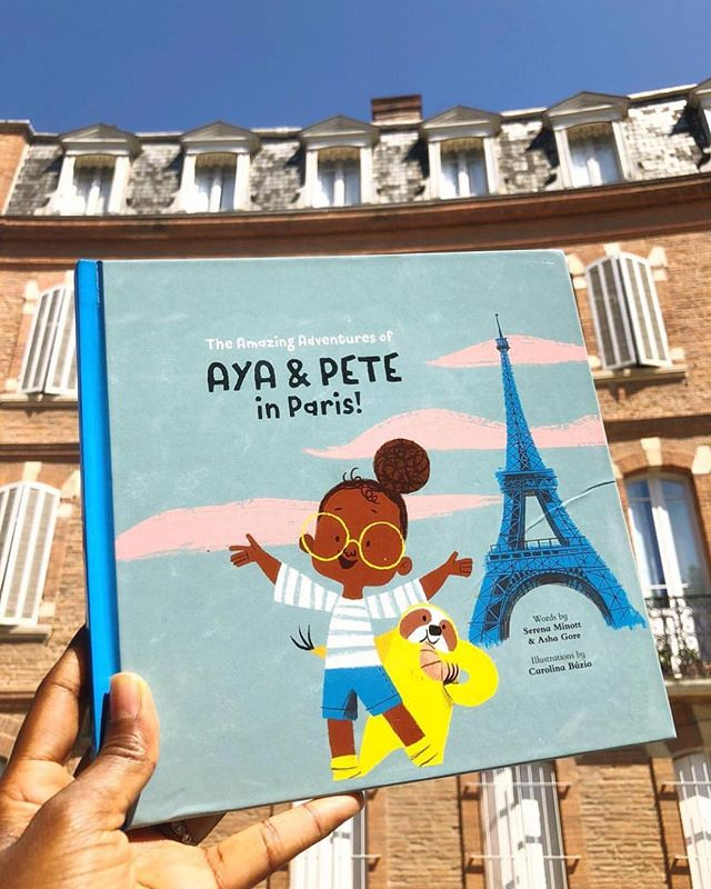 We came across a new gem today and can't wait to explore Paris with Aya & Pete! @shopashima What was your inspiration for this story?! 💛