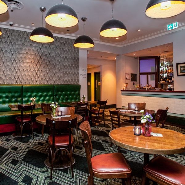 Large groups of up to 30 (seated only)Our bistro area can be reserved and is a great space to enjoy our shared menu - the bistro