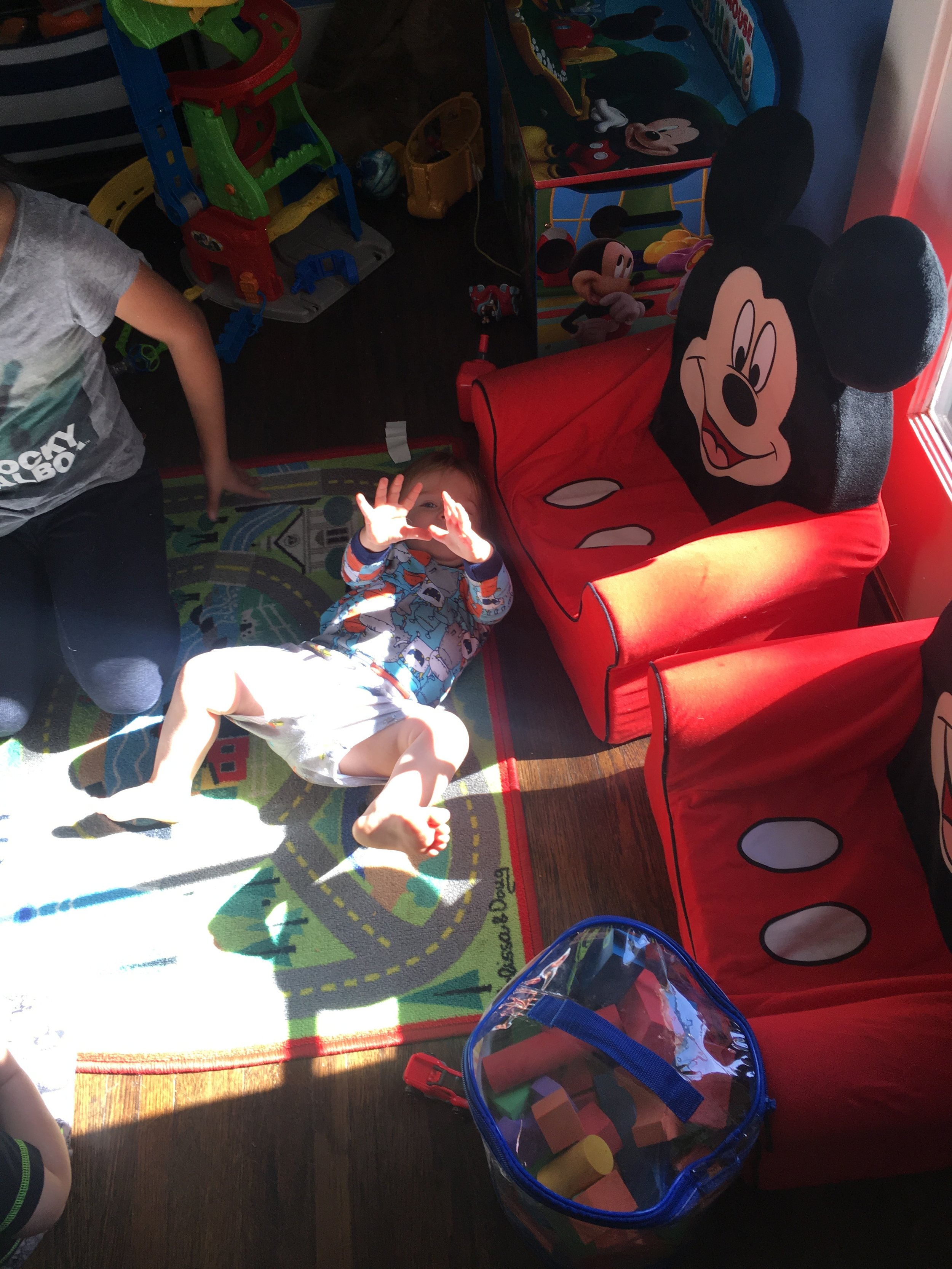Playroom with Kids
