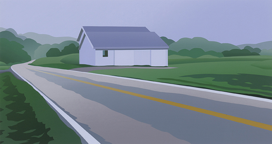 """""""White Barns, Route 8"""""""