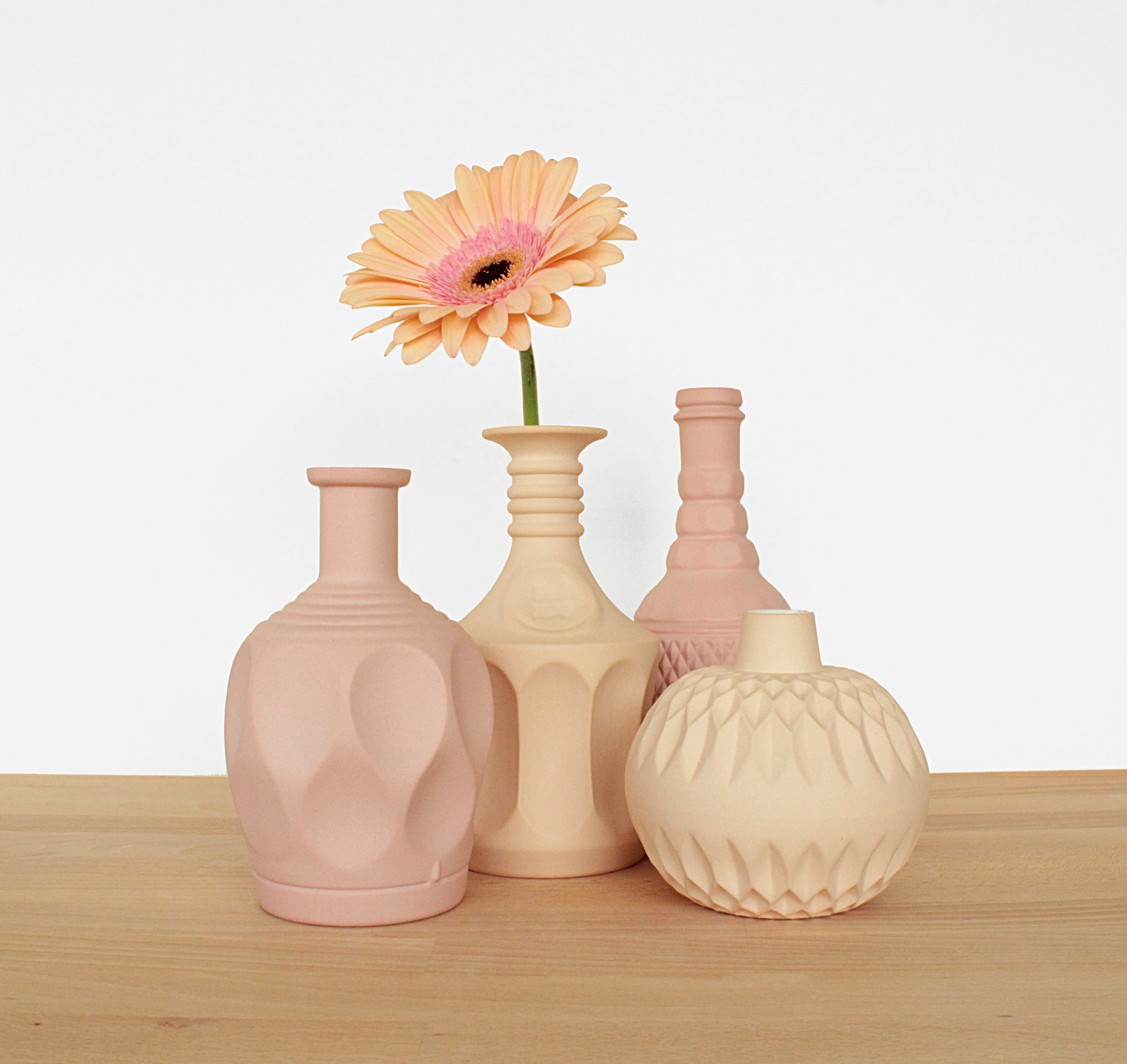 Vases Peach and Pink.jpg