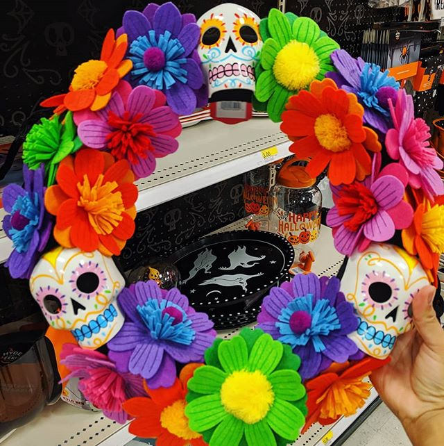 @target inspiring me for Halloween. Wreath coming soon. #highstakes #notenoughtime #halloweeninspo