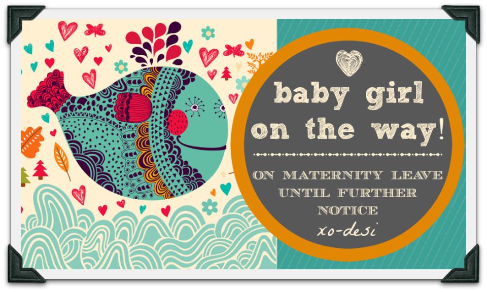 on maternity leave - artist desiree east