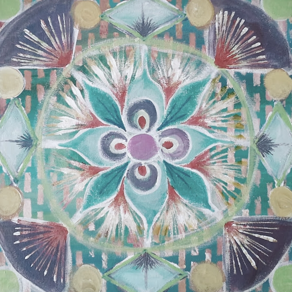mandala painting meditations art course with transformational creativity coach desiree east