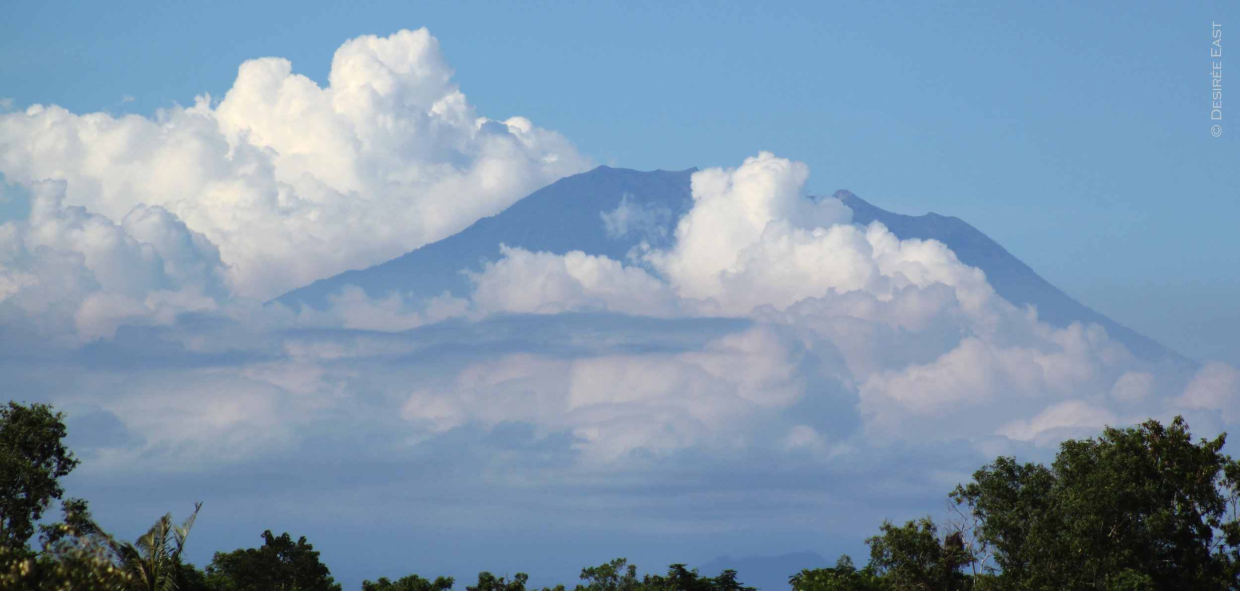 bali volcano. bali, indonesia. photo by desiree east