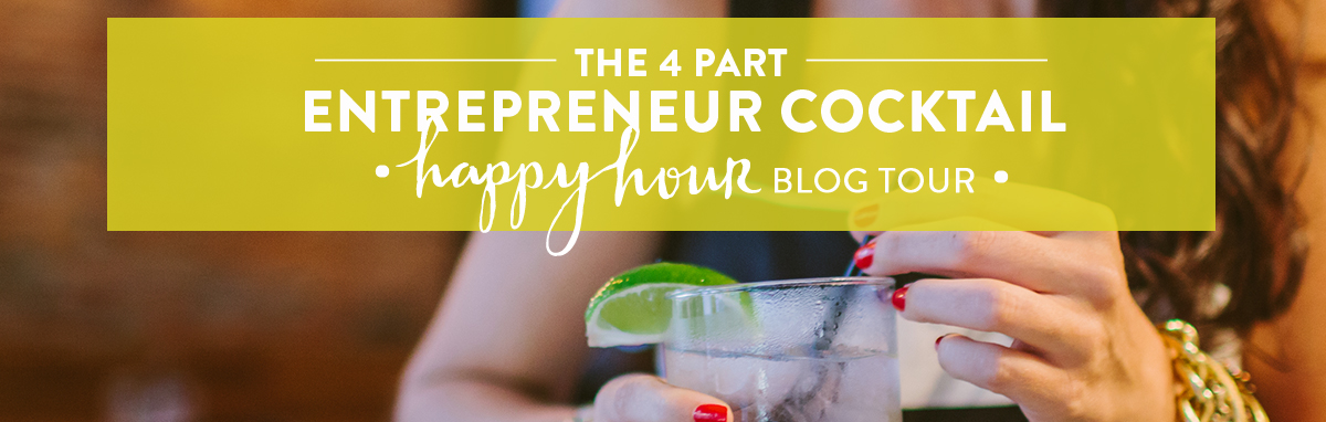 the 4 part entrepreneur happy hour blog tour with hilary rushford of dean street society - desiree east