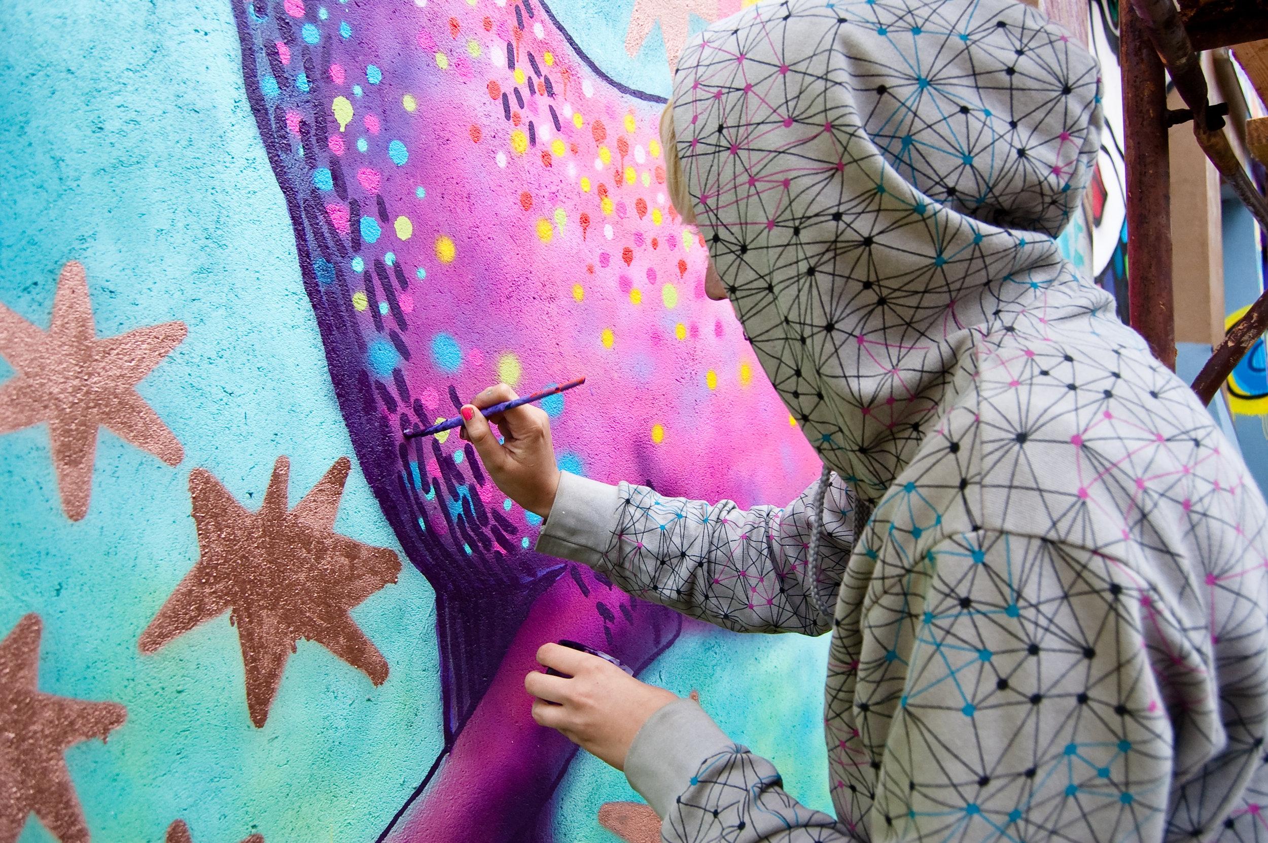 Creative Art Meditations - A Monthly Painting Retreat + Women's Creativity CircleReflect. Reconnect. Rejuvenate.