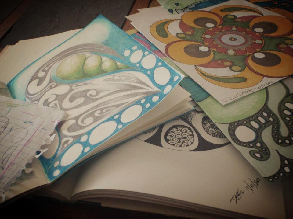 sketchbook by desiree east