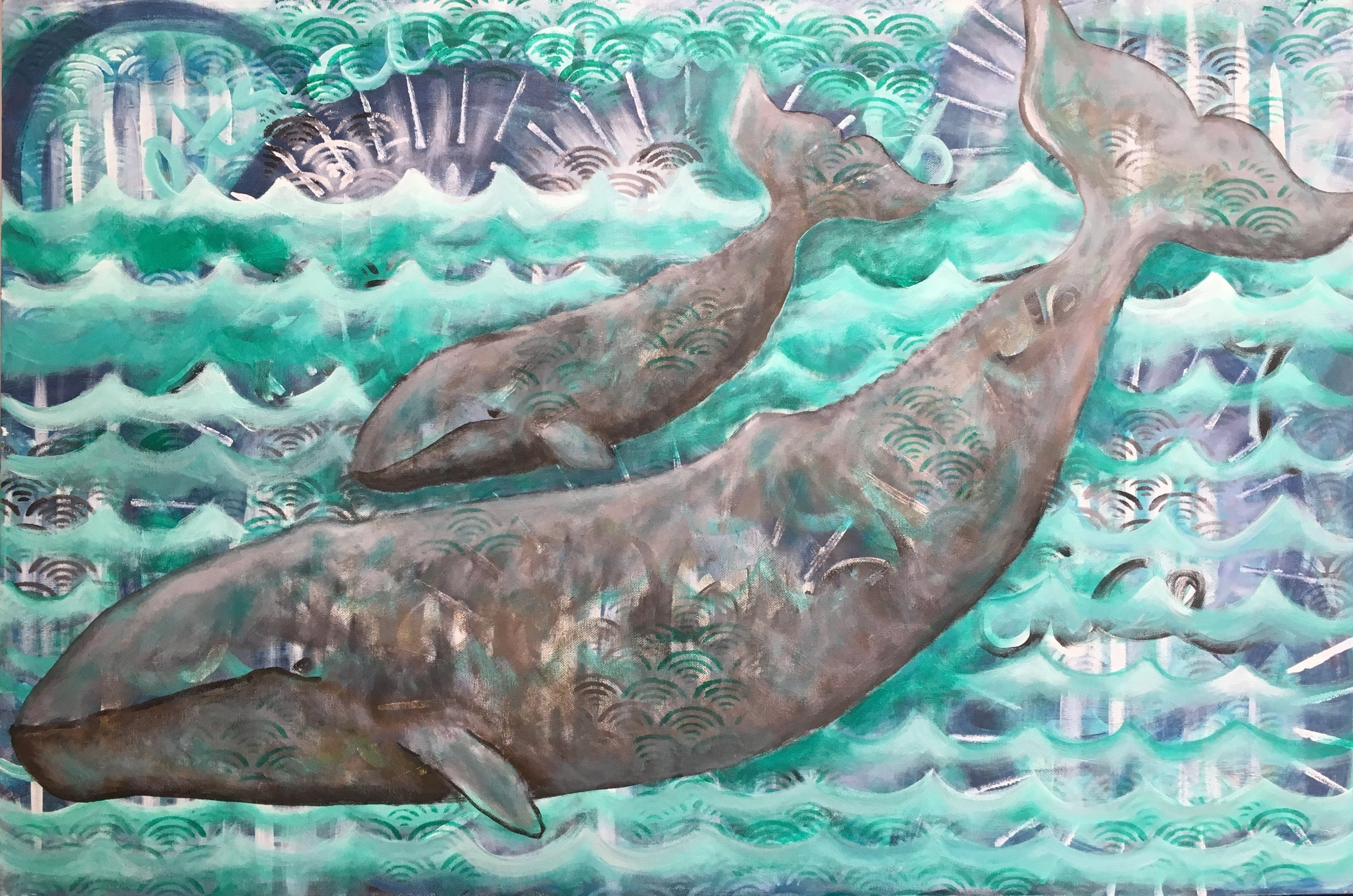 gray whale painting by desiree east.JPG