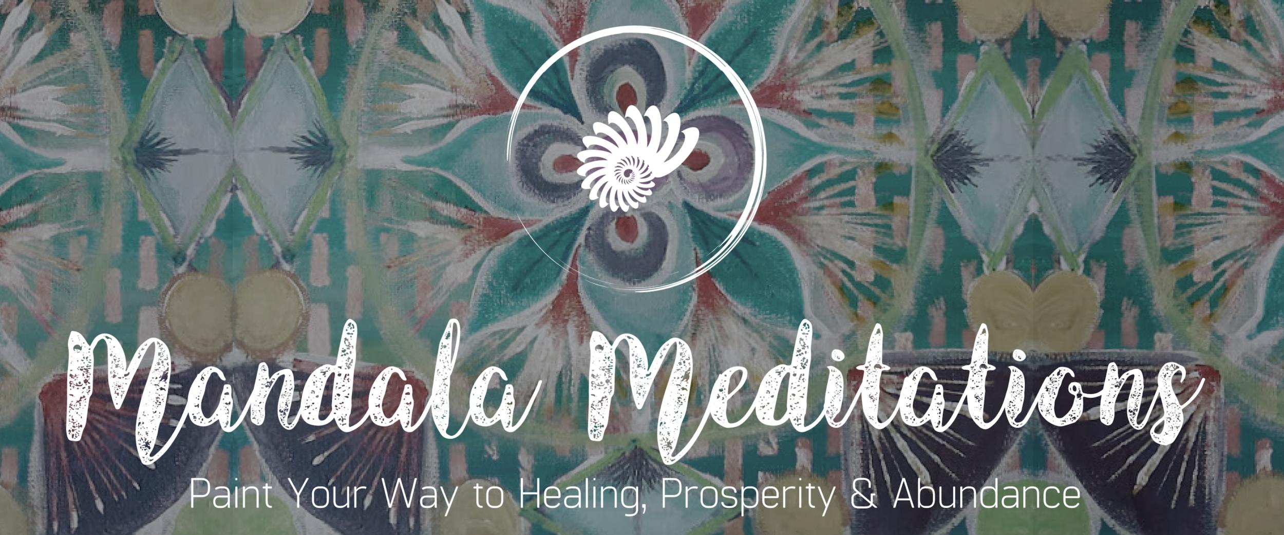 mandala meditations: a 3-week painting journey with desiree east